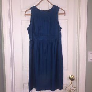 Banana Republic sleeveless silk dress. Sz 10